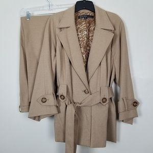 Kasper Sportswear 16W Suit Career Jacket and Pants
